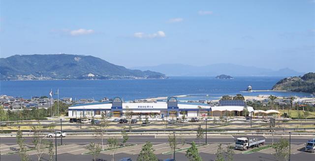 津田の松原サービスエリア の画像・写真